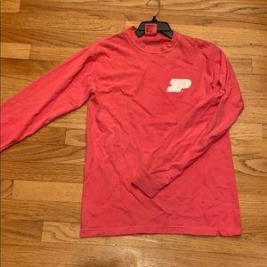 Purdue LongSleeved Pink Shirt Comfort Colors Small